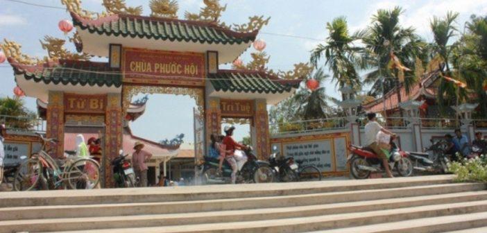 Về một ngôi chùa quê ở miền Tây sông nước