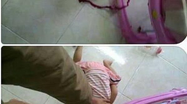 Sau li hôn, chồng hành hạ con trai hơn 1 tuổi rồi chụp hình gửi cho vợ, đe dọa bỏ đói con