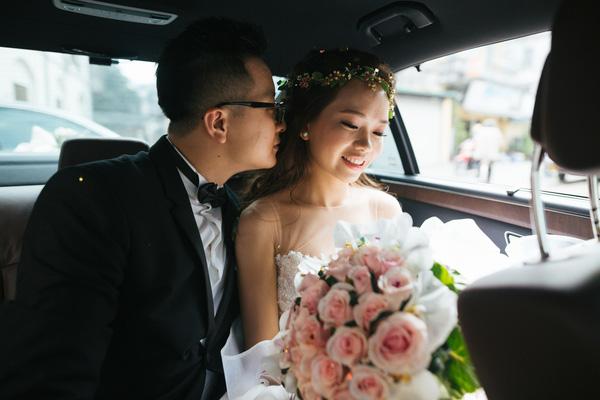 cưới ở phố đi bộ