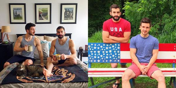 những cặp đồng tính vừa đẹp